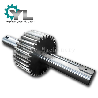 Rotary Kiln Output Drive Gear Pinion Shaft