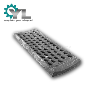 High Manganese Steel Casting Grid Screen Plate