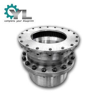 Casting 42CrMo Driving Shaft Connector Curved Tooth Gear Coupling Clutch Coupling