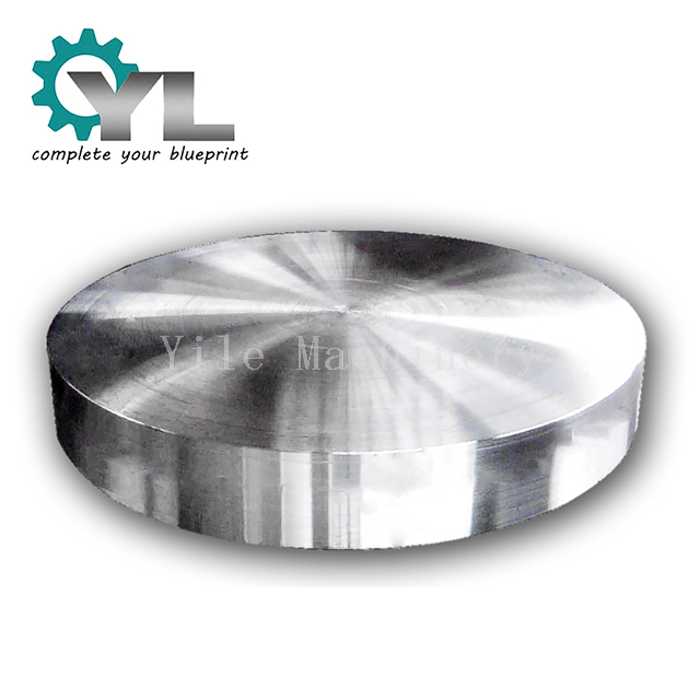 Custom Free Hot Steel Forging Round Block Disk
