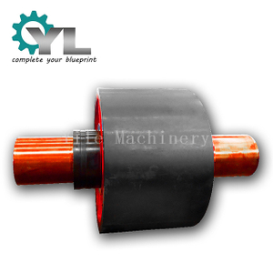 OEM Cement Manufacturer Factory Forging Rotary Kiln Support Wheel Trunnion Roller
