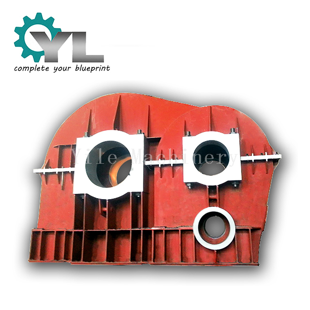 Steel Plate Welding Structure Gearbox Cover Housing