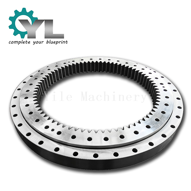 Inside Gear Four Point Contact Ball Slewing Bearing