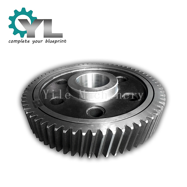 Transmission Forging Steel Welding Structure Helical Gear