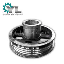 Excavator Cast Steel Rope Pulley Drum