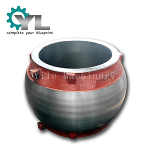 Custom Nodular Cast Iron Ball Valve Body