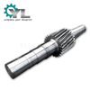 High Torque Low Speed Heavy Mining Machine 34CrNiMo6 Equipment Gear Shaft