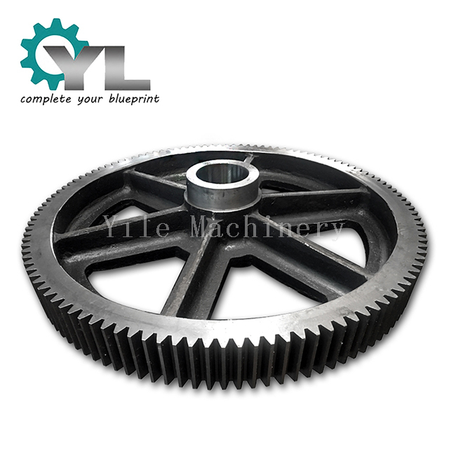 Big Module Metal Spur Gears Manufacturer Heavy Industrial Machining Grinding Tooth Spur Gear