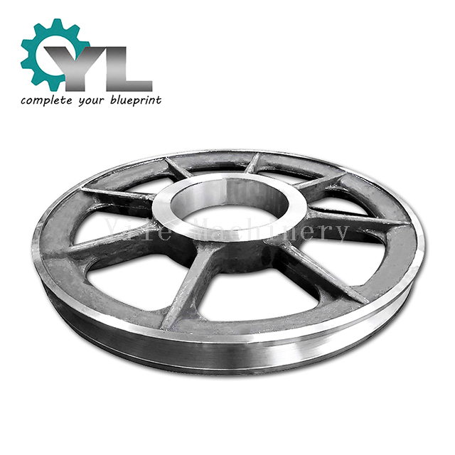 Customized Size Overhead Hoisting Pulley Wheel Steel Pulley