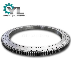42CrMo Mining Plant Big Module Spare Part Slewing Swing Gear Excavator Gear