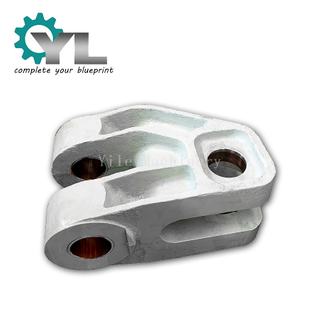 Custom Steel Casting Link For Excavator Casting Link Connector