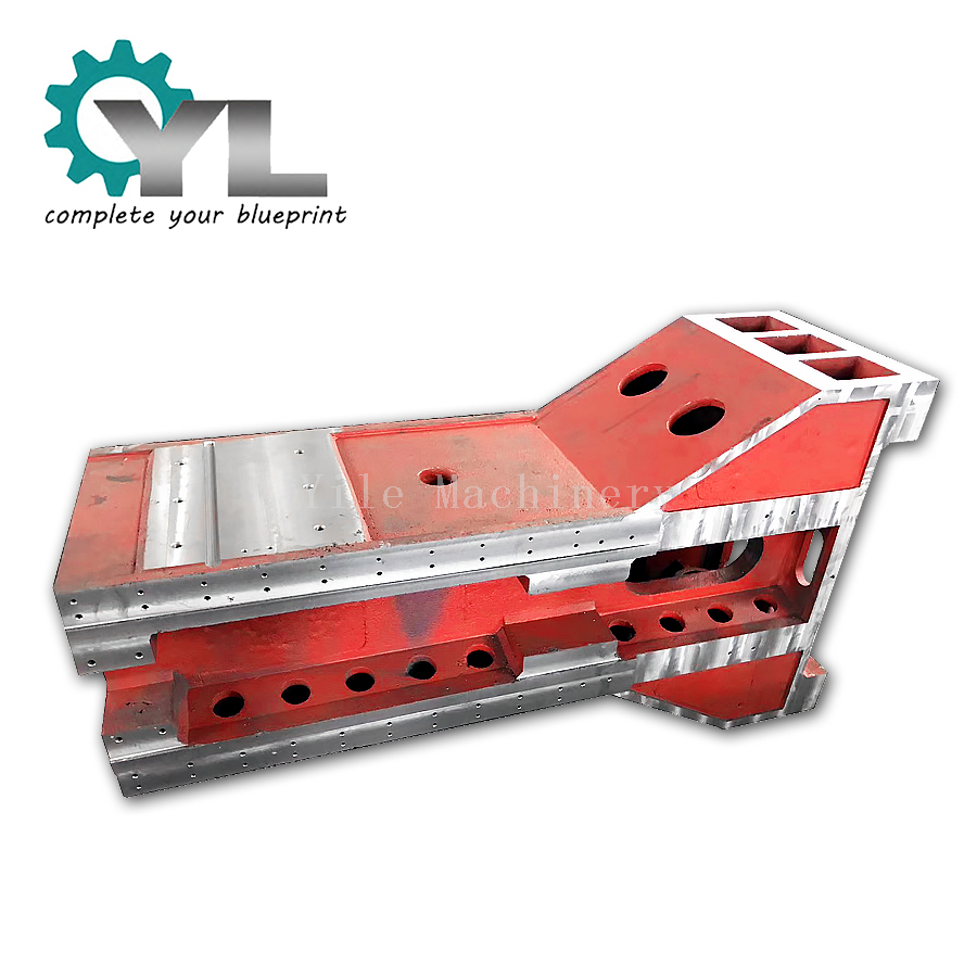 Mining Crusher Parts Welding Steel Frame