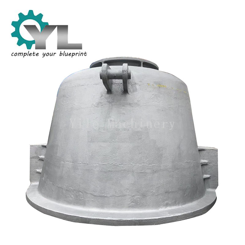 OEM Casting Processing Type Steel Mill Cast Steel Slag Pot