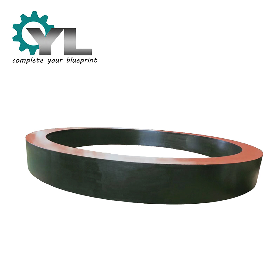 Custom Large OEM 34CrNiMo Cement Rotary Forged Bandage Ring
