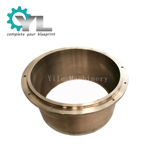 Custom Mining Equipment Bronze Bush Sleeve Centrifugal Casting Stone Crusher Brass Bush