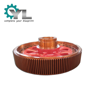 China Top Manufacturer Produce Big Modulus Gear Assembly Intermediate Gear