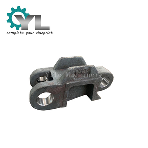 High Manganese Iron Steel Machinery Parts Excavator Casting Track Shoe
