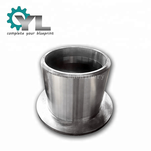 Heavy Equipment Customized Flange Liner Durable Round Shape Shaft Bearing