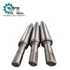 Precision Alloy Steel Machining Mill Work Roller Back Up Steel Roll Roller Shaft