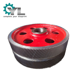 Forging Double Helical Gear Wheel Transmission Gear Herringbone Gear
